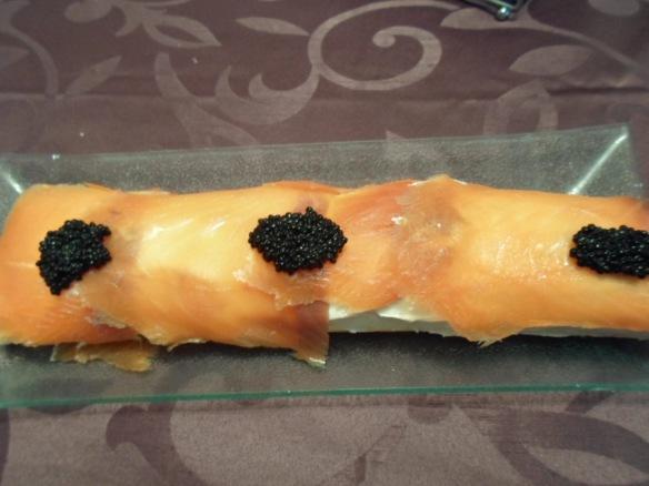 rollo de salmón